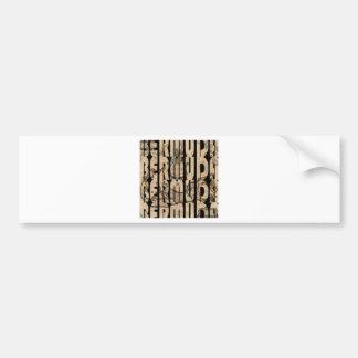 bermuda1662 1 bumper sticker