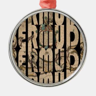 bermuda1662 1 metal ornament