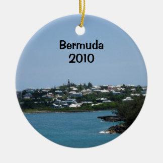 Bermuda, 2010 ceramic ornament