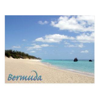 Bermuda Beach Postcard
