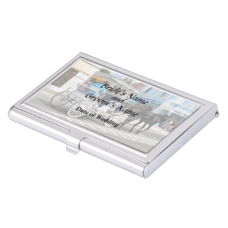 Bermuda - Carriage Ride in Hamilton Wedding Favors Business Card Holder