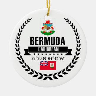 Bermuda Ceramic Ornament
