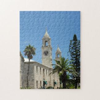 Bermuda clock jigsaw puzzle