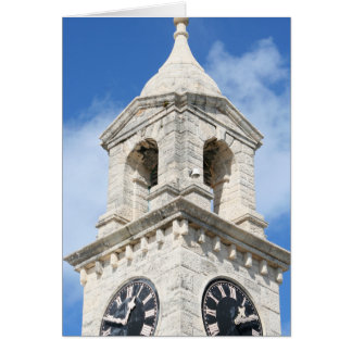 Bermuda Clocktower card