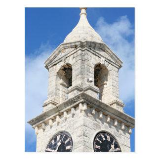 Bermuda Clocktower postcard