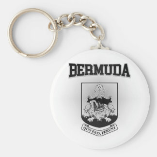 Bermuda Coat of Arms Basic Round Button Keychain