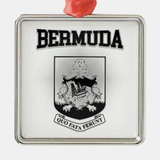 Bermuda Coat of Arms Metal Ornament