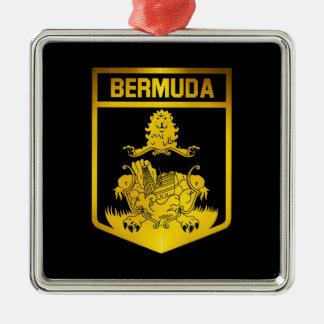 Bermuda Emblem Metal Ornament