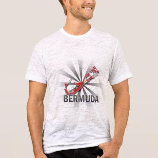 Bermuda Flag Map 2.0 T-Shirt