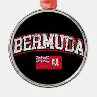 Bermuda Flag Metal Ornament