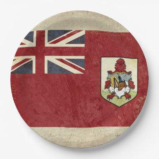 Bermuda Flag Paper Plates
