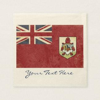 Bermuda Flag Party Napkins Disposable Napkin