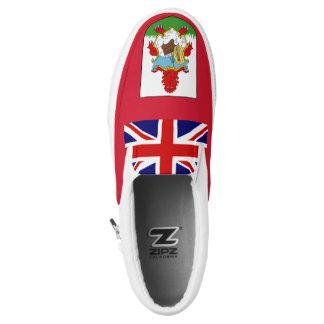 Bermuda Flag Slip-On Sneakers