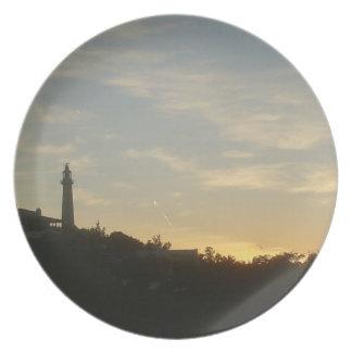 Bermuda Gibb's Lighthouse Southampton Party Plate