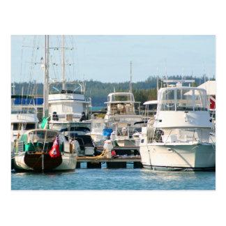 Bermuda Harbor postcard