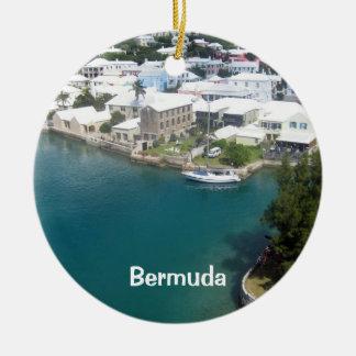 Bermuda houses, Bermuda Ceramic Ornament