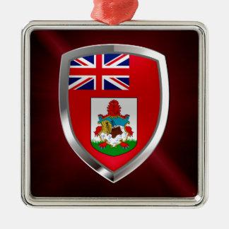 Bermuda Mettalic Emblem Metal Ornament