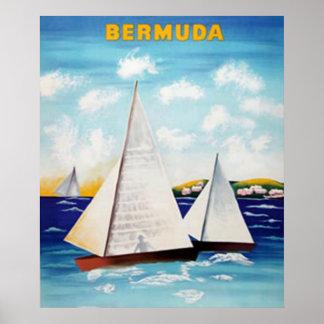Bermuda Retro Poster