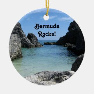 Bermuda, Rocks! Ceramic Ornament