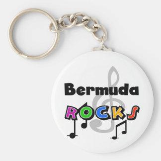 Bermuda Rocks Keychain