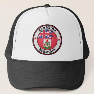 Bermuda Round Emblem Trucker Hat