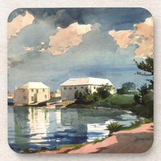 Bermuda, Salt Kettle artwork Coaster