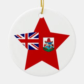 Bermuda Star Ceramic Ornament