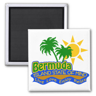 Bermuda State of Mind magnet