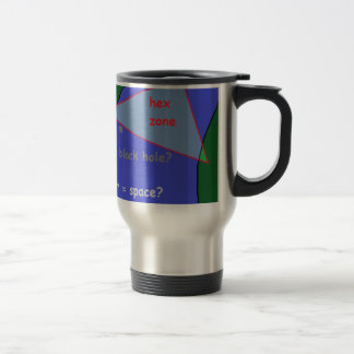 Bermuda triangle: the theory travel mug