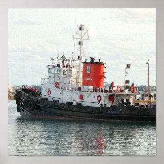 Bermuda Tug print