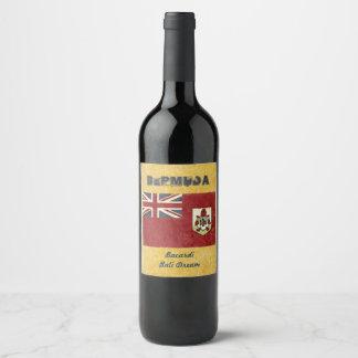 Bermuda Wine Label