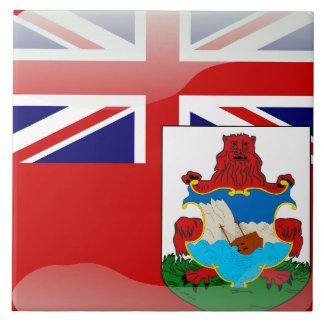 Bermudian flag tile