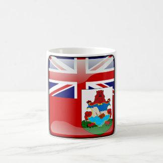 Bermudian glossy flag coffee mug
