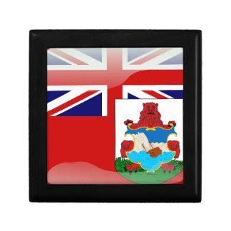 Bermudian glossy flag gift box