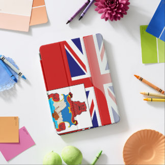Bermudian glossy flag iPad air cover