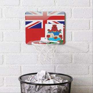 Bermudian glossy flag mini basketball backboard