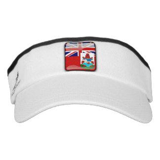 Bermudian glossy flag visor