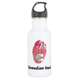 Bermudian touch fingerprint flag 532 ml water bottle