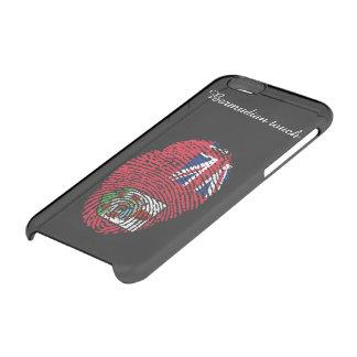 Bermudian touch fingerprint flag clear iPhone 6/6S case