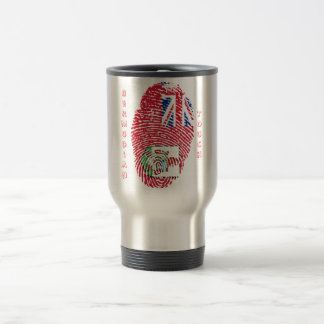 Bermudian touch fingerprint flag travel mug