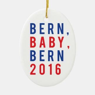 Bern Baby Bern 2016 Ceramic Oval Ornament