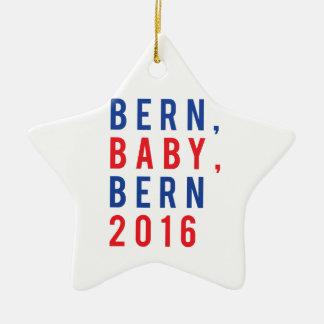 Bern Baby Bern 2016 Ceramic Star Ornament