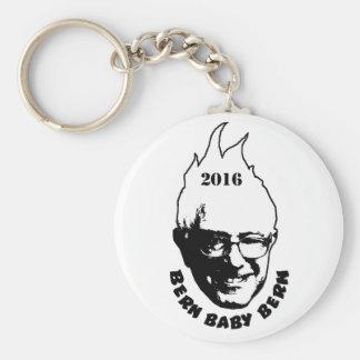 BERN BABY BERN - Bernie Sanders 2016 Basic Round Button Keychain