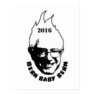 BERN BABY BERN - Bernie Sanders 2016 Postcard