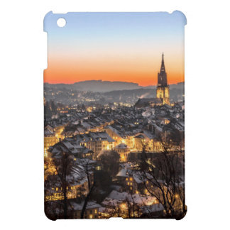 bern city view Christmas time Cover For The iPad Mini