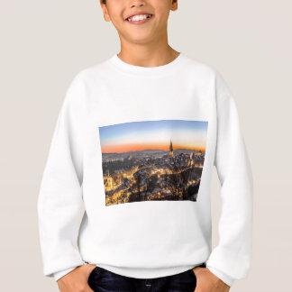bern city view Christmas time Sweatshirt