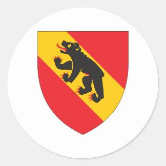 Bern Coat Of Arms Classic Round Sticker