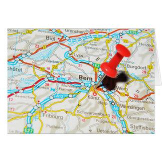 Bern, Switzerland Card