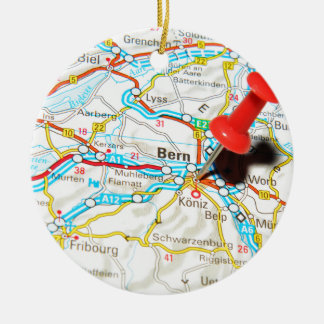 Bern, Switzerland Ceramic Ornament