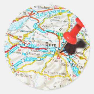 Bern, Switzerland Classic Round Sticker